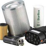 Separators for compressors and vacuum pumps