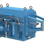 PIV unit for twin-shaft extruder drives