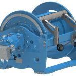 Hosting winches