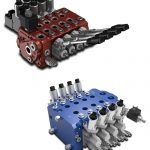 WALVOIL sectional proportional valves electrically on/off controlled